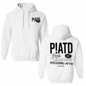 P!ATD Panic at the disco white call now hoodie Med